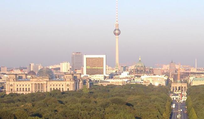 ارسال بار به برلین