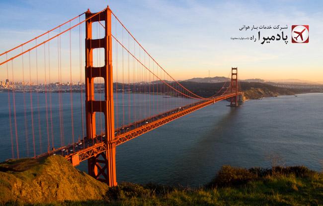ارسال بار به سان فرانسیسکو